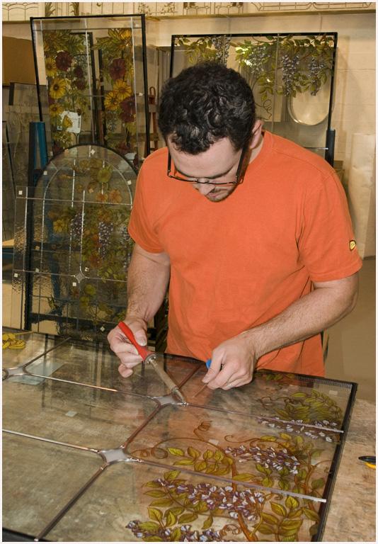 reportages metiers et artisans fabrication de vitraux. Black Bedroom Furniture Sets. Home Design Ideas