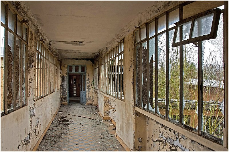 Sanatorium de Dreux - Photographies de Sylvain Mary